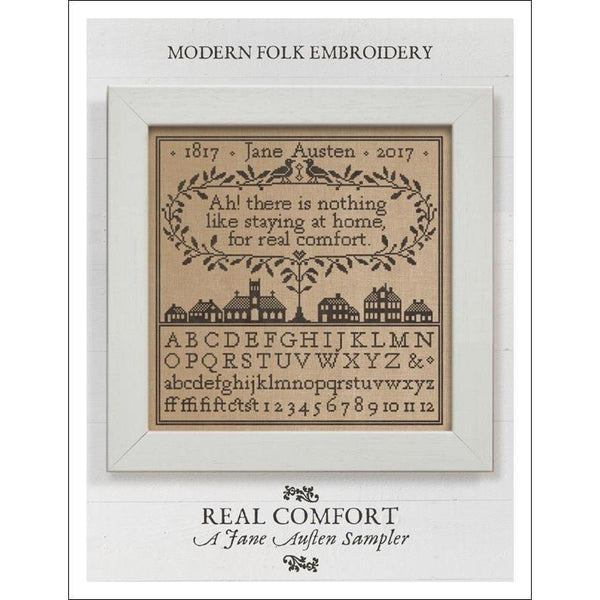 Real Comfort ~ A Jane Austen Sampler Pattern