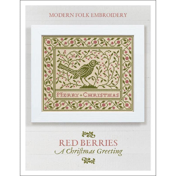 Red Berries ~ A Christmas Greeting Pattern