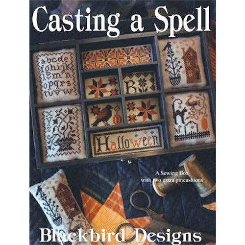 Casting a Spell Cross Stitch Pattern