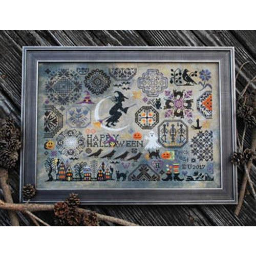 Halloween Quaker Cross Stitch Pattern or Kit