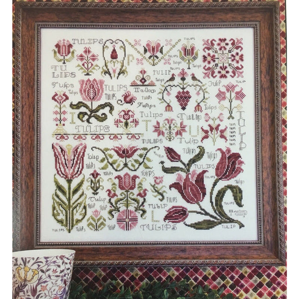 Dreaming of Tulips Sampler Pattern