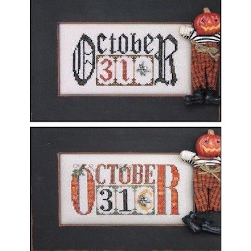 Charmed Choice: October 31 Cross Stitch Pattern