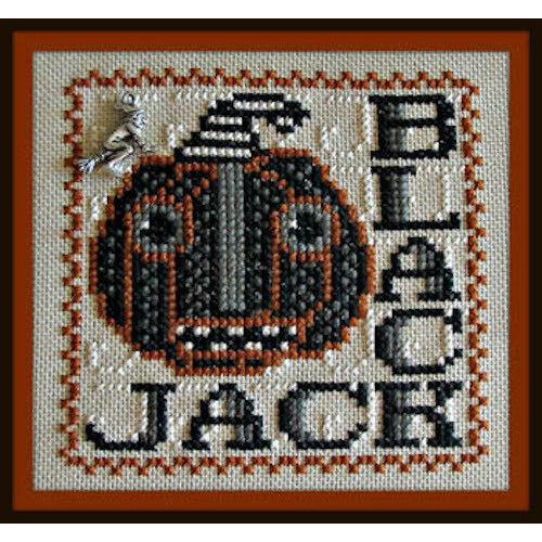 Word Play: Black Jack Cross Stitch Pattern