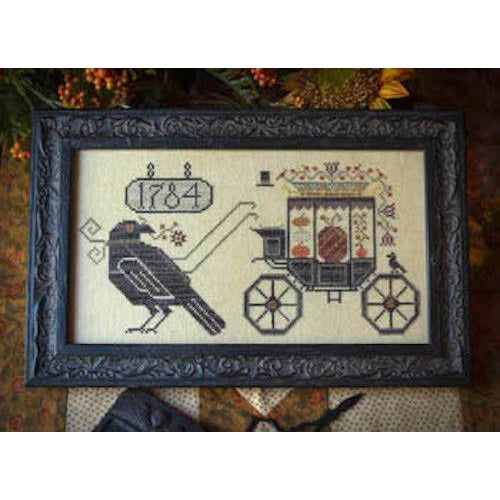 Halloween Delivery Cross Stitch Pattern