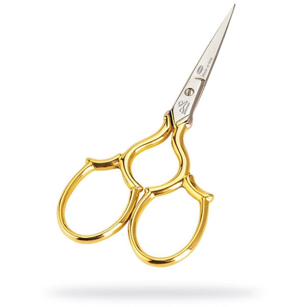 "Premax 3 1/2"" Embroidery Scissors Gold Collection"