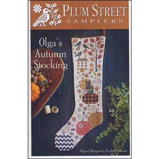 Olga's Autumn Stocking Pattern