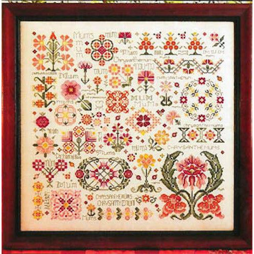 Dreaming of Mums Sampler Pattern