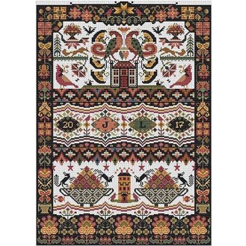 Hoity Toity Cross Stitch Pattern