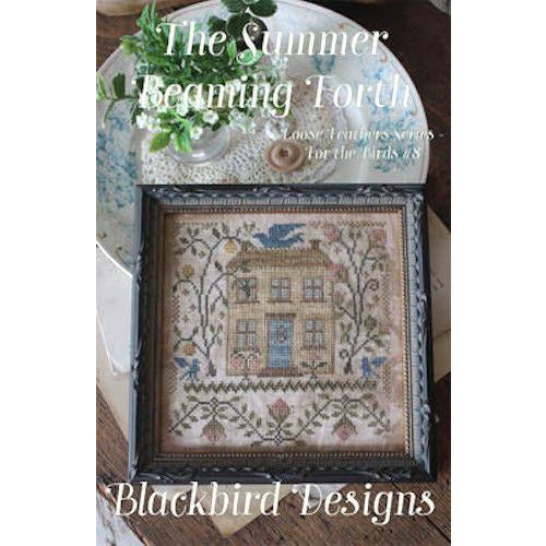 Summer Beaming Forth Cross Stitch Pattern