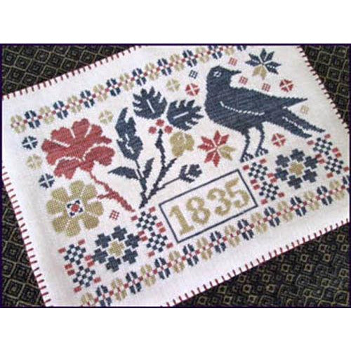 Coverlet Candle Mat Cross Stitch Pattern