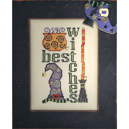 Charmed: Best Witches Cross Stitch Pattern w/Charms
