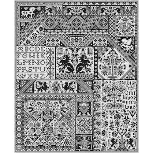 Death by Cross Stitch Sampler Pattern