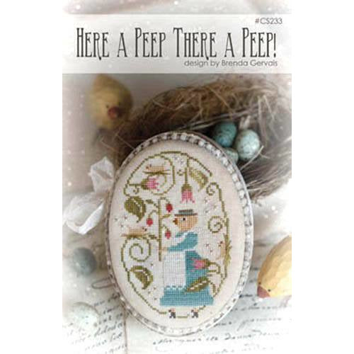 Here a Peep There a Peep! With Thy Needle Thread Cross Stitch Pattern
