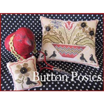 Button Posies Cross Stitch Pattern