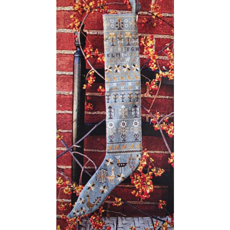 Pennsylvania German Stocking Cross Stitch Pattern