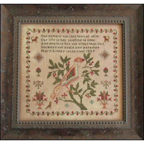 Mary Linley 1829 Reproduction Sampler Pattern or Kit