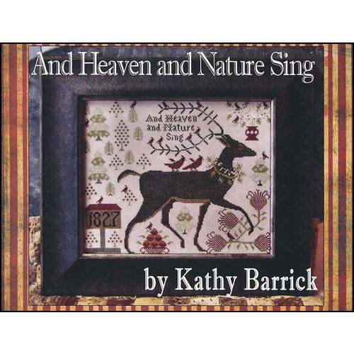 Heaven & Nature Sing Folk Cross Stitch Pattern