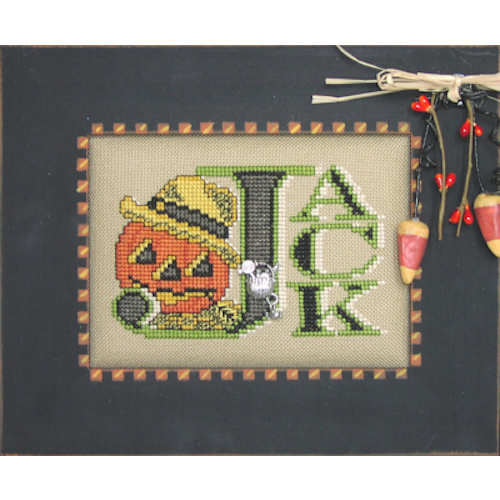 Charmed: Vintage Jack Cross Stitch Pattern