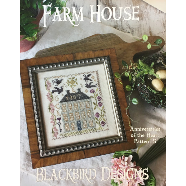 Anniversaries of the Heart Pattern 5 - Farm House
