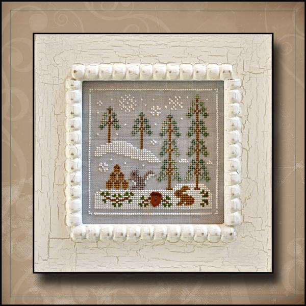 Frosty Forest - Snowy Friends Pattern
