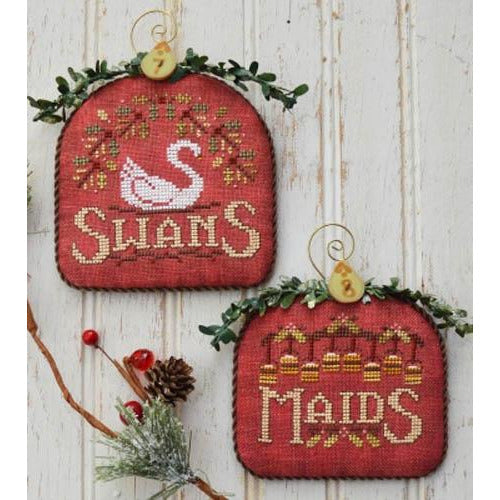 12 Days - Swans & Maids Pattern