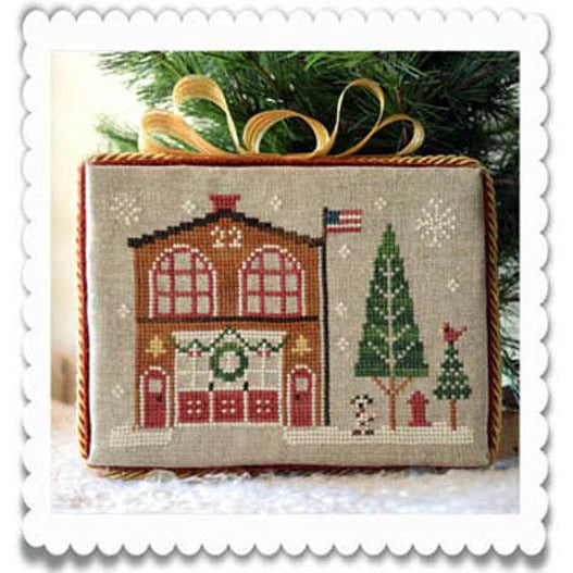 Hometown Holiday Series - 7 Firehouse Pattern