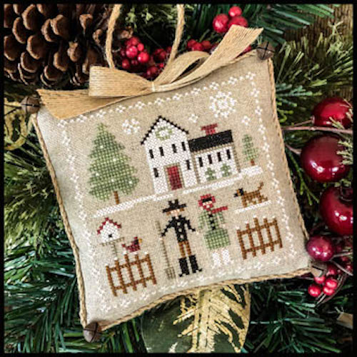 Farmhouse Christmas Part 8 Farm Folk Pattern