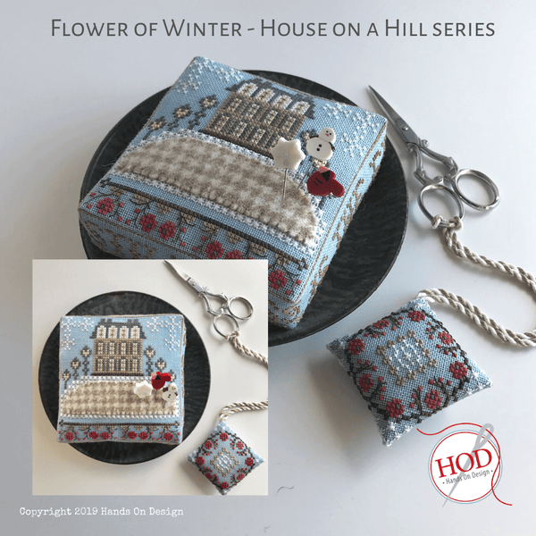 House on a Hill - Flower of Winter Pattern