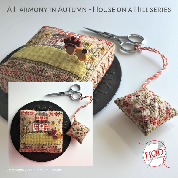 House on a Hill - A Harmony in Autumn Pattern
