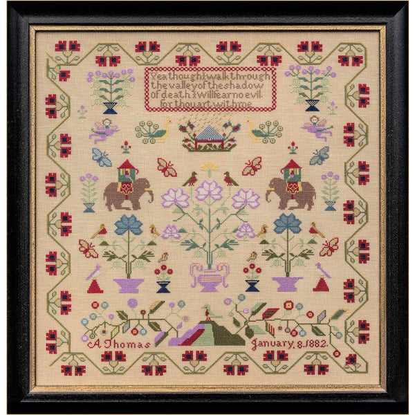 A Thomas 1882 - The Nellies Sampler Pattern