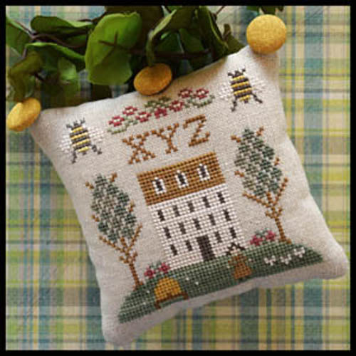 ABC Samplers Pattern No. 9 - XYZ
