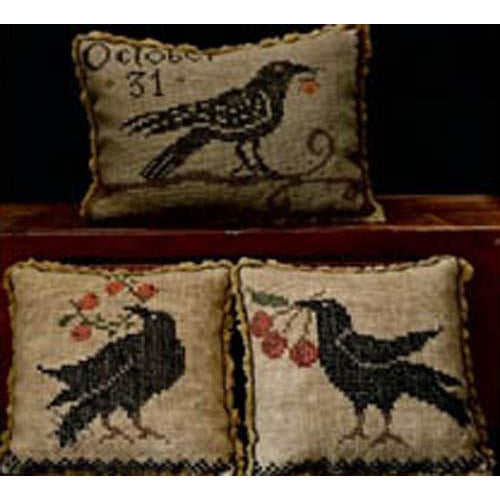 A Murder... of Crows Cross Stitch Pattern