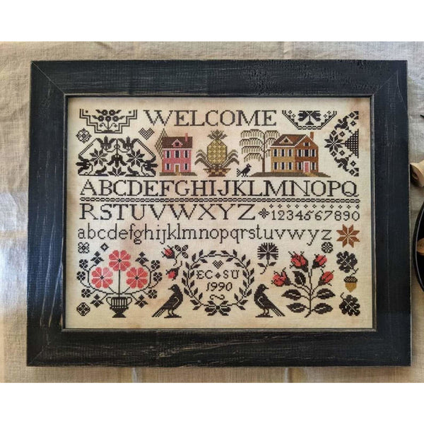 A Quaker Welcome Sampler Pattern