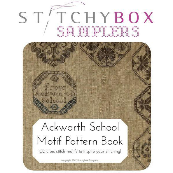Ackworth School Motif Pattern Book Cross Stitch Book