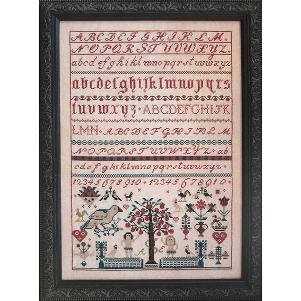 Adam & Eve Sampler Cross Stitch Pattern