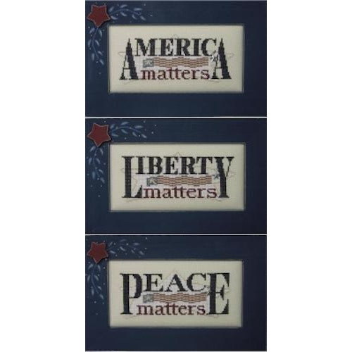Charmed: America Matters Cross Stitch Pattern
