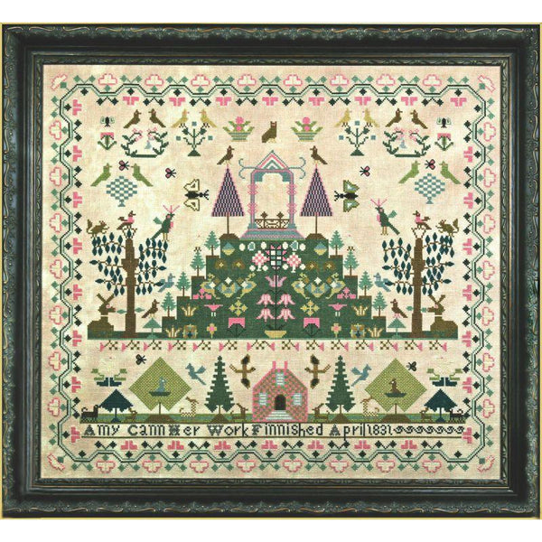 Amy Cann 1831 Reproduction Sampler Pattern