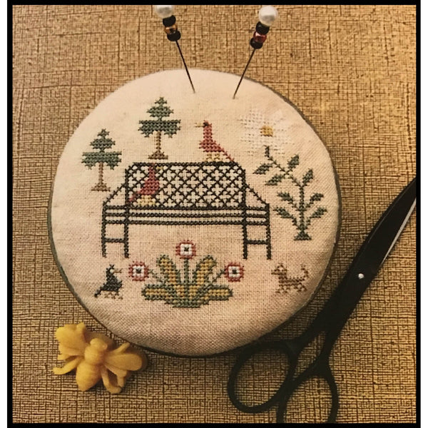 Ann's Garden Pinkeep Cross Stitch Pattern
