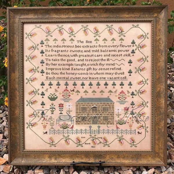 Ann Long 1826 Sampler Pattern or Kit