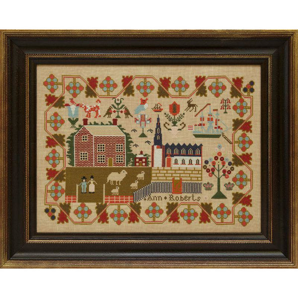 Ann Roberts 1842 Reproduction Sampler Pattern