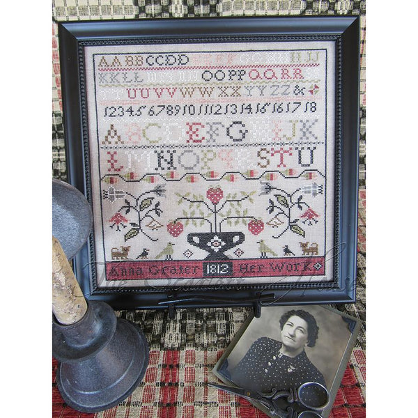 Anna Grater 1812 Sampler Pattern or Kit