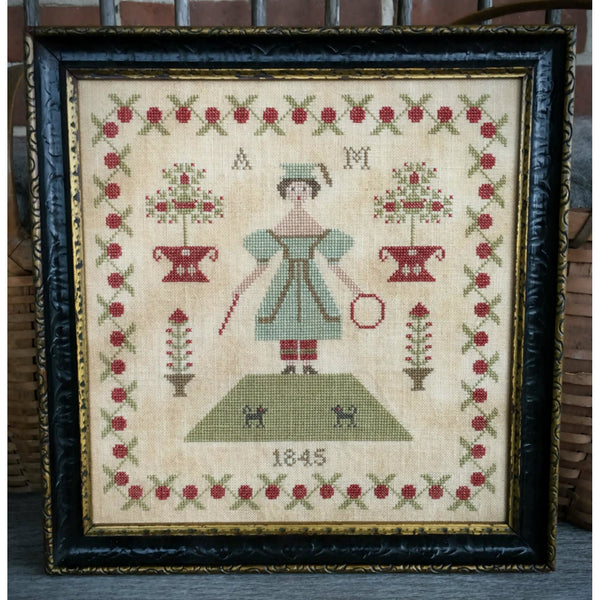 Anna Morgan 1845 Cross Stitch Pattern