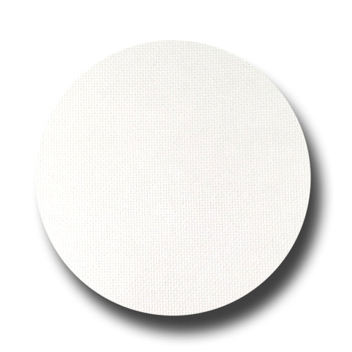 18 ct Davos White Evenweave Fabric