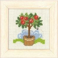 Apple Tree Mini Cross Stitch Kit