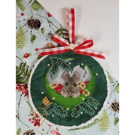 At Home for Christmas Cross Stitch Pattern