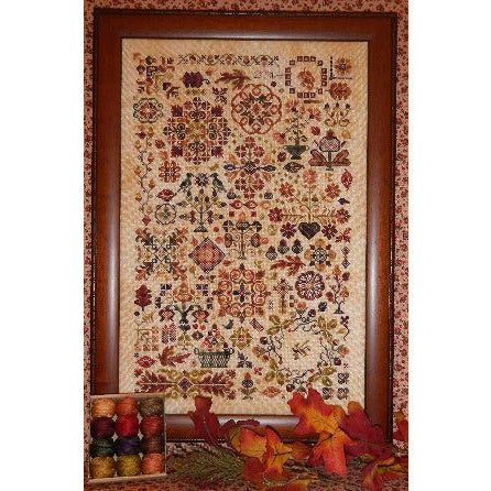 Autumn Quakers Sampler Cross Stitch Pattern