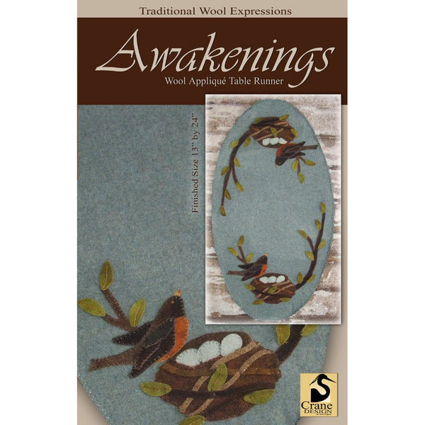 Awakenings Wool Applique Pattern
