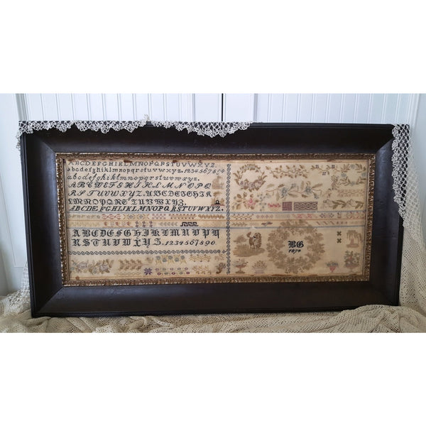 BG 1874 Reproduction Sampler Pattern