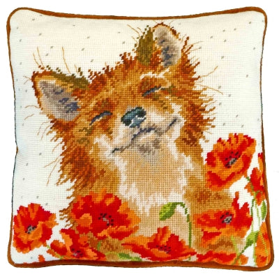 Poppy Field Tapestry Kit