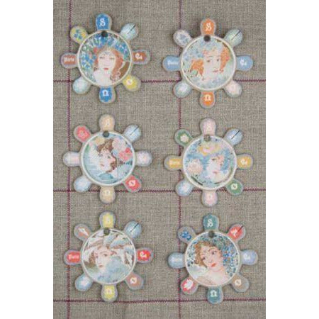 Sajou Thread Cards Barfleur - Women's Portraits